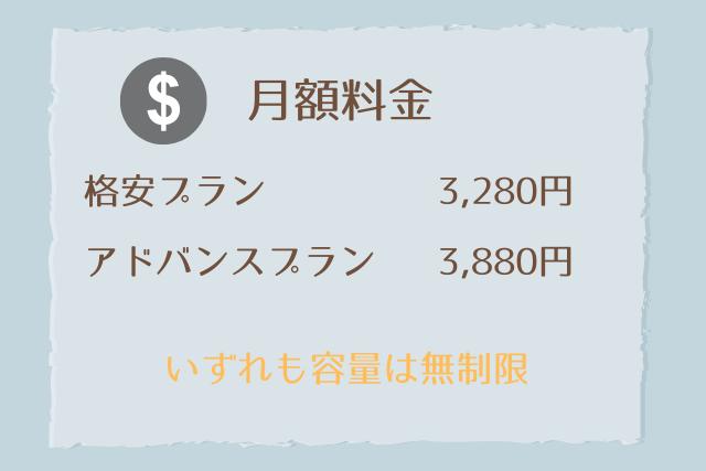 無限wifiの月額料金